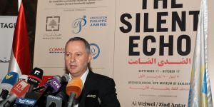 Minister of Culture of Lebanon Mr Araygi