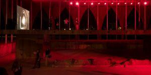 Edgardo Aragon, Mute concert, performance & video installation, 2018