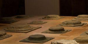 Ai Weiwei, Foundation, 2015, Oak wood and stone